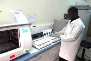 KEMRI HIV Laboratory, Image courtesy of KEMRI