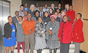 Participants of the June ASLM/NHLS WHO-AFRO SLIPTA Auditor Training.