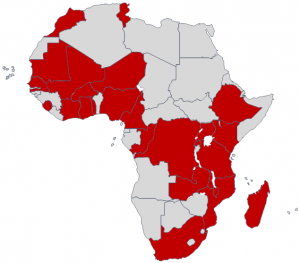 African countries at ANISE