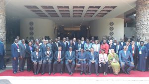 Delegates to the 67th the 67th session of the WHO's Regional Committee for Africa. [Photo: WHO/AFRO