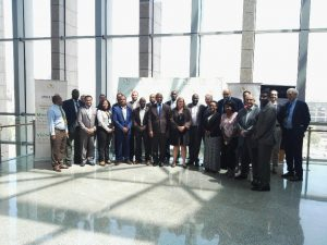 Participants of the Africa CDC Workforce Development Strategy Planning Meeting with Partners [Photo: Dr Merawi, Africa CDC]