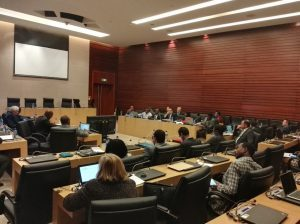 Consultative meeting on development of the public health workforce in Africa [Photo: Dr Merawi, Africa CDC]