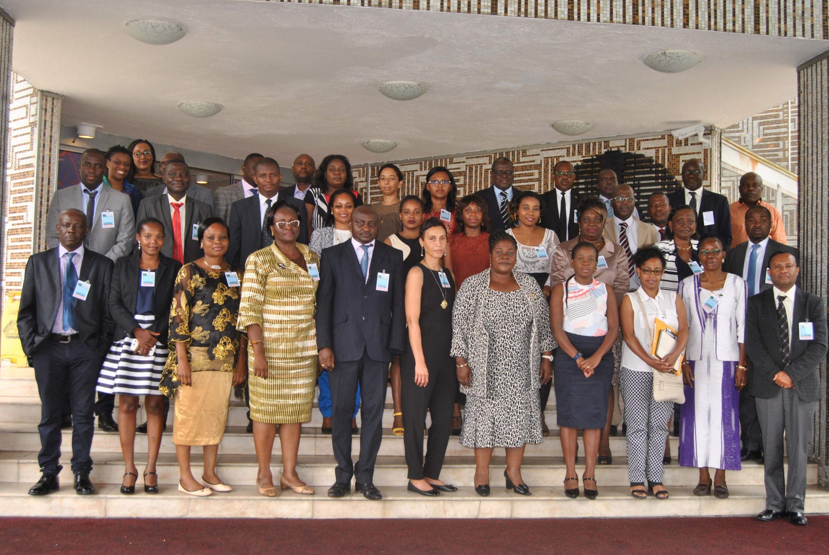 Thirty-five representatives from seven Central African countries participated to the workshop (Photo: Le Meridien Hotel)