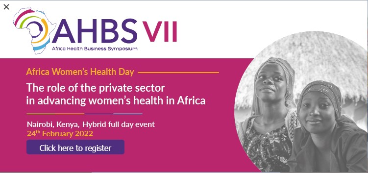 The Africa Health Business Symposium - Africa Women's Health Day